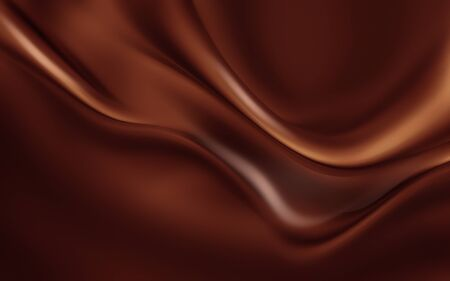 Abstract background with melting chocolate full screen.
