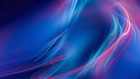 Abstract bright background with shining neon lines