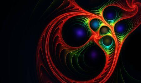 Abstract fractal background Фото со стока