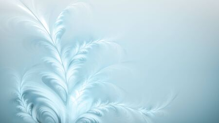 Abstract winter pattern on a light blue background 스톡 콘텐츠