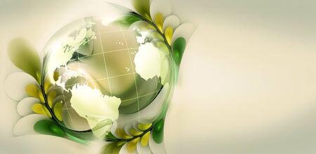 Green world conceptual image