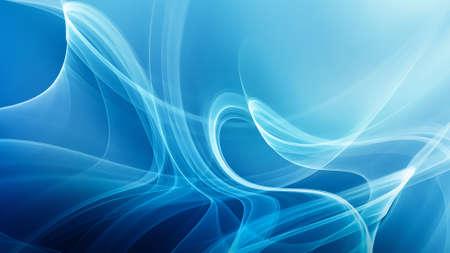 Abstract blue windy background Foto de archivo