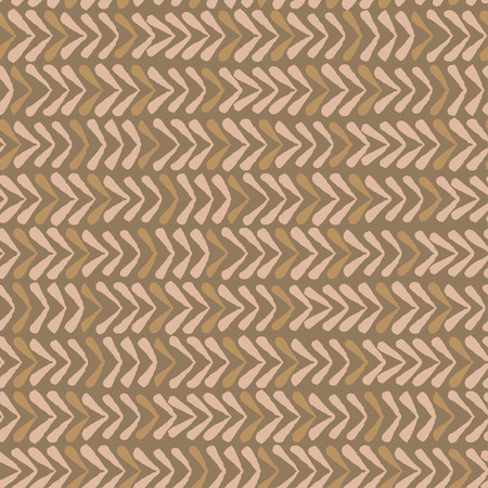 Abstract seamless vector nature ribbon chevron coffee pattern
