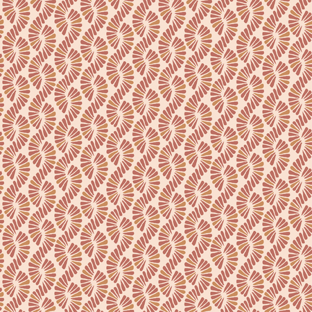 Abstract seamless vector nature ribbon pigtail pattern