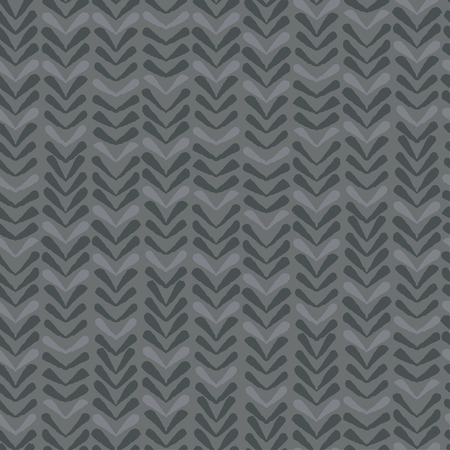 Abstract seamless vector nature ribbon chevron grey pattern