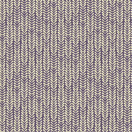 Abstract seamless vector nature ribbon chevron yellow and lilac pattern