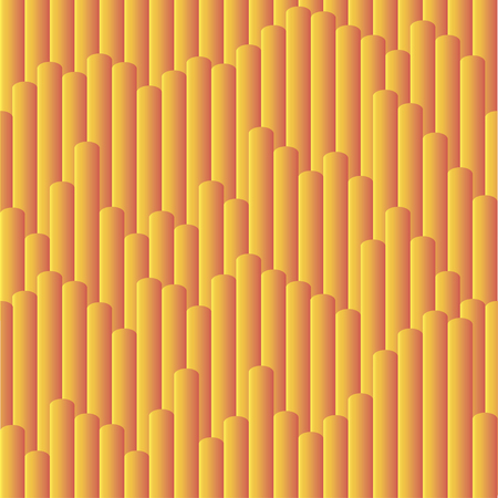 Seamless vector gradient cheese sticks pattern for wrapping, craft, fabric, textile 向量圖像