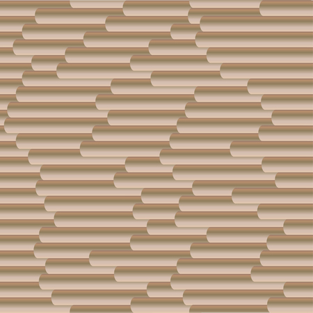 Seamless vector gradient coffee sticks pattern for wrapping, craft, fabric, textile