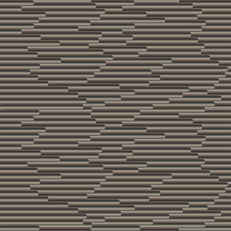 Seamless vector gradient tubing brown pattern for wrapping, craft, fabric, textile 向量圖像