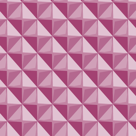Vector papper stickers cut-out tile pink seamless pattern for fabric, textile, craft, wrapping, wallpaper