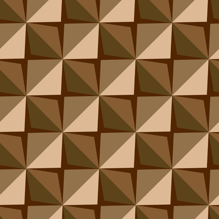 Vector papper stickers cut-out tile coffee seamless pattern for fabric, textile, craft, wrapping, wallpaper