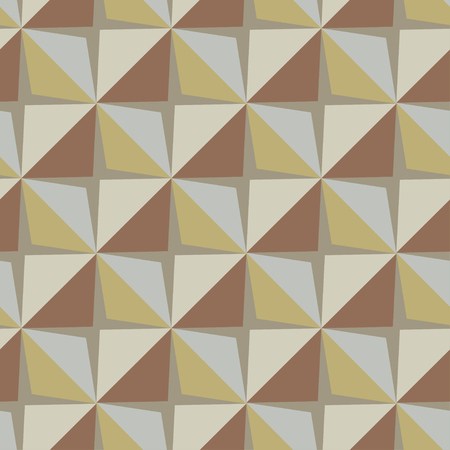 Vector papper stickers cut-out tile retro beige seamless pattern for fabric, textile, craft, wrapping, wallpaper 向量圖像