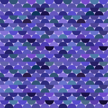 Seamless vector halves rounds colourful lilac pattern for textile, fabric, wrapping, craft, ceramic