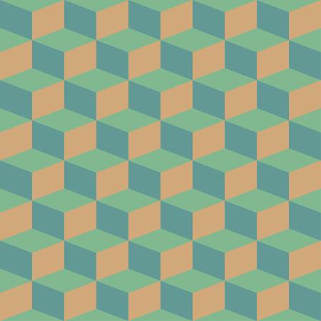 Blocchi astratti illusione visiva senza soluzione di continuità contrasto modello retrò per artigianato, confezionamento, tessuto, tessile