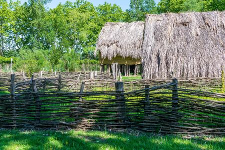 Old rural house in countryside.