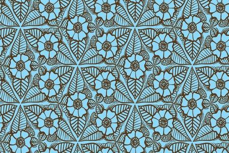 seamless pattern: flower seamless pattern Illustration