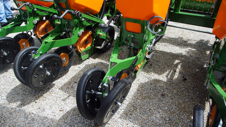 Agricultural cultivator for the processing of land, when used makes the work easier and improves the yield Banque d'images - 95433857