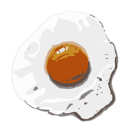 fried: Fried eggs.