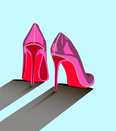 Louboutin shoes for women. flat shoes design.