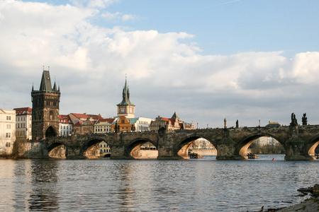 czech republic: Prague - Charles bridge, Czech Republic