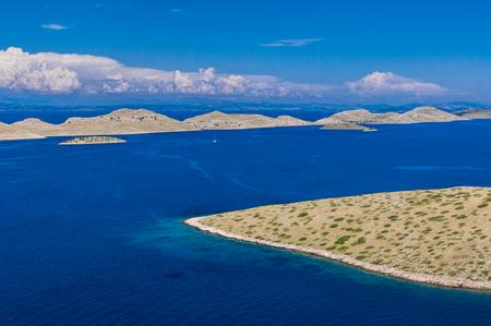 croatian: Beautiful vista in Croatian national park Kornati