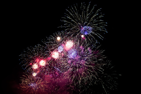 fourth of july: Gracious firework bomb explosion, fourth of july