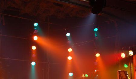 reflectors: Concert reflectors Stock Photo