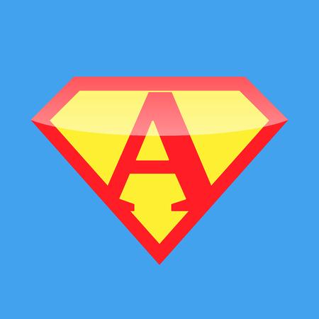 supermom: Logo Super Hero
