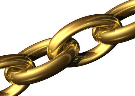 Golden chain Stock Photo - 716322