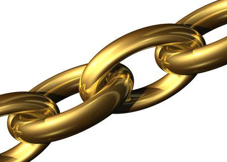 Golden chain Stock Photo - 716322