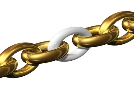 Weakest link in the chain Stock Photo - 716321