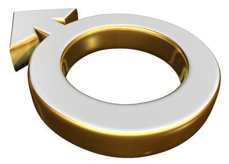 Male  symbol Stock Photo - 716310
