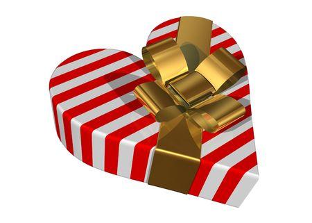 Valentine gift box photo