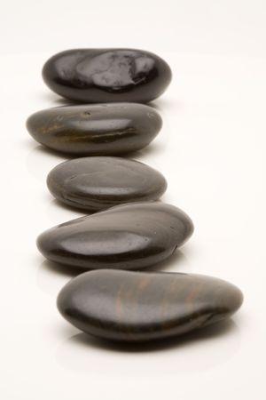 zen pebble stones photo