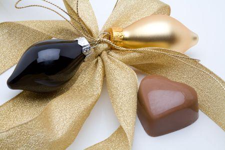 Belgian chocolate valentine heart
