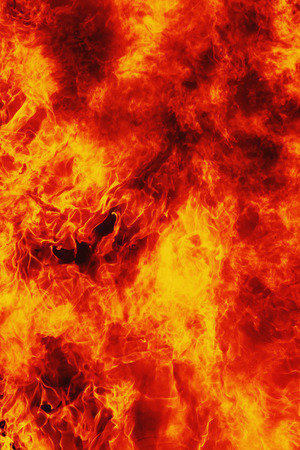 torment: background of fire as a symbol of hell and eternal torment Stock Photo