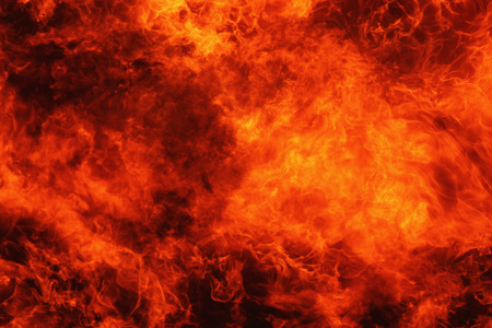 background of fire as a symbol of hell and eternal torment Archivio Fotografico
