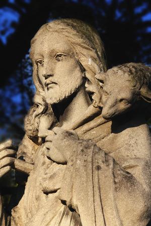 good shepherd: Good Shepherd Jesus Christ (art composition, details)