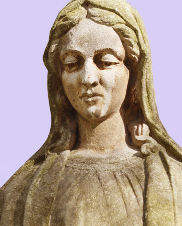 Statue of Virgin Mary as a symbol of love and kindness Archivio Fotografico