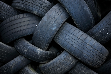 cull: a pile of used car tires