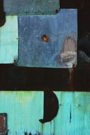 oxidation: abstract contrasty background Stock Photo
