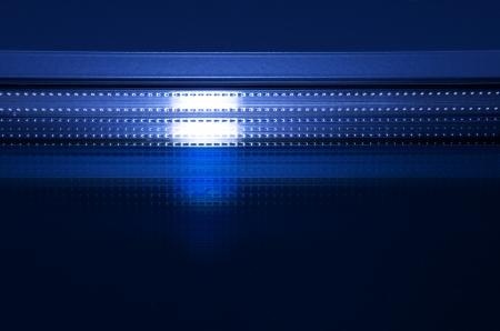 blue light reflection Stock Photo - 16137972