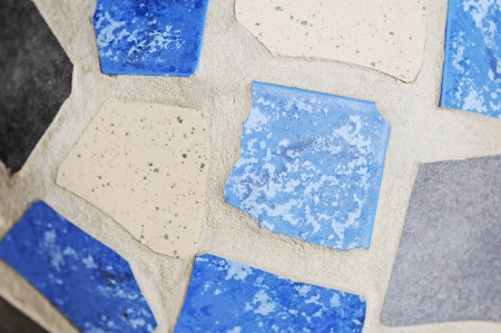marmorate: tiled mosaic background Stock Photo