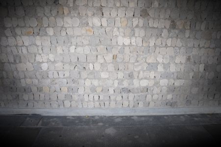 vignetted exterior wall background