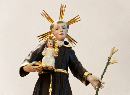 religious statue - decoration in a church photo