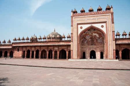 fatehpur sikri: the deserted town fatehpur sikri in india - rajasthan - agra Stock Photo