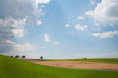 lonesomeness: rural landscape in Austria