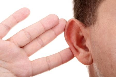 personas escuchando: Escucha