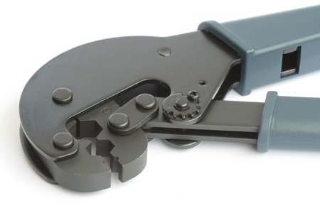 Tool for crimping TV connectors photo