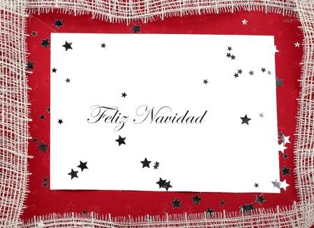 feliz: Spanish Christmas Card